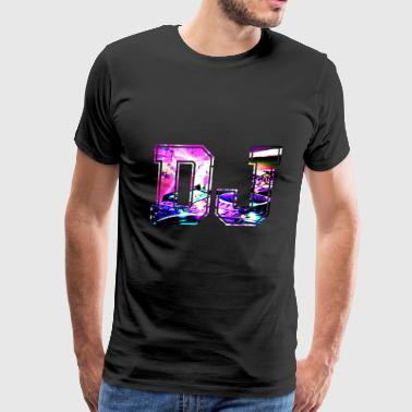 Product Funny DJ - Disc Jockey Music Remix Beats Humor - Men's Premium T-Shirt