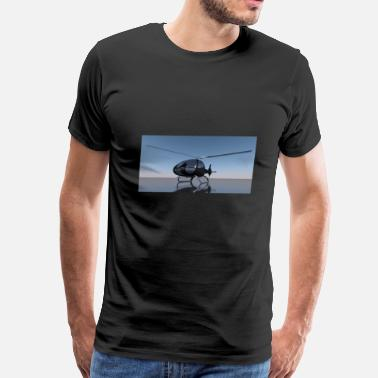 Bell helicopter - Men's Premium T-Shirt