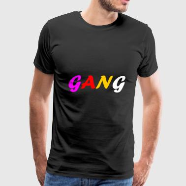 Biker Gang GANG perfect Design for Gifts and Gangs - Men's Premium T-Shirt