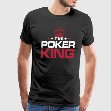Poker King - Men's Premium T-Shirt