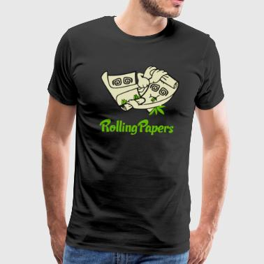 Rolling Papers - Men's Premium T-Shirt