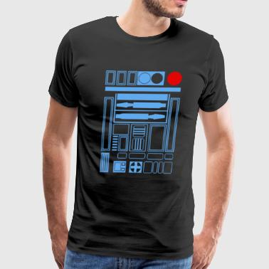R2 D2 Robot Droid - Men's Premium T-Shirt