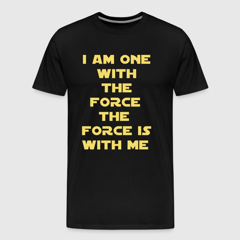 One With The Force Rogue One Chirrut Imwe - Men's Premium T-Shirt