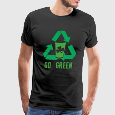 Go Green Drinking Party St - Men's Premium T-Shirt