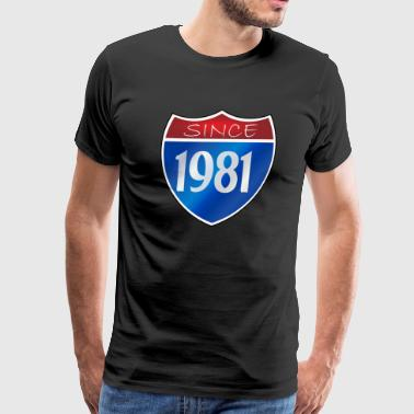 Since 1981 - Men's Premium T-Shirt