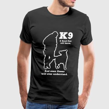 Police K9 Police Military Dog K9 - Men's Premium T-Shirt
