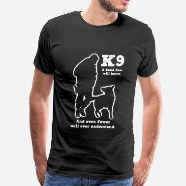 Police Dog Police Military Dog K9 - Men's Premium T-Shirt