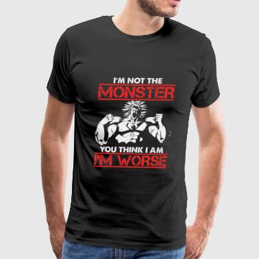 Broly-Broly Is worse than the monster you think - Men's Premium T-Shirt