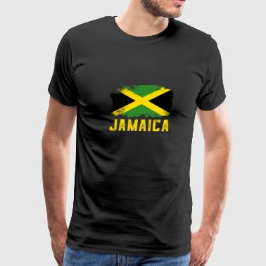Jamaica Flag Designs - Men's Premium T-Shirt