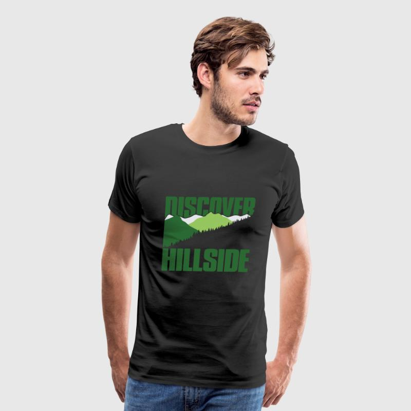 Discover Hillside - Men's Premium T-Shirt