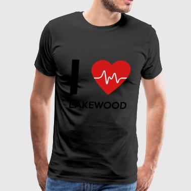 Lakewood I Love Lakewood - Men's Premium T-Shirt
