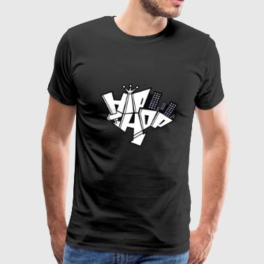 hip hop graffe - Men's Premium T-Shirt