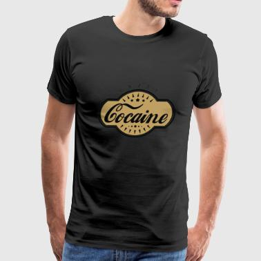 Cocaine - Men's Premium T-Shirt