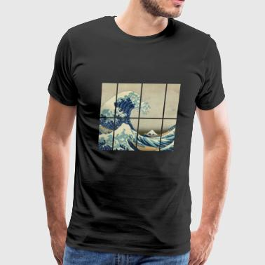 THE GREAT WAVE OFF KANAGAWA - Men's Premium T-Shirt