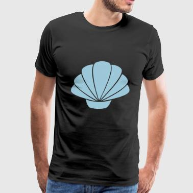 seashell - Men's Premium T-Shirt