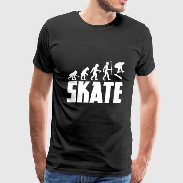 Evolution Skateboarding Skateboarder Skating Skate - Men's Premium T-Shirt