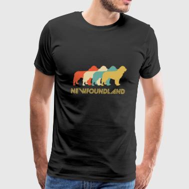Newfie Newfoundland Pop Art - Men's Premium T-Shirt