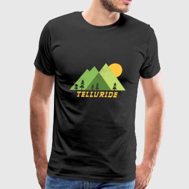 telluride colorado mountains - Men's Premium T-Shirt