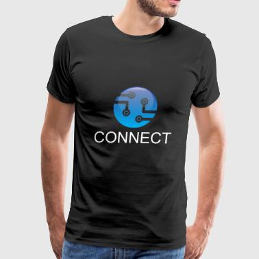 Connect - Men's Premium T-Shirt