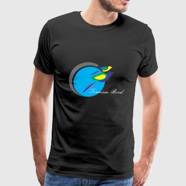 Tourism Bird - Men's Premium T-Shirt