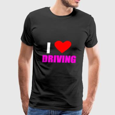 DRIVING - Men's Premium T-Shirt