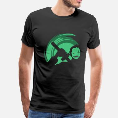 The Green Mask - Men's Premium T-Shirt