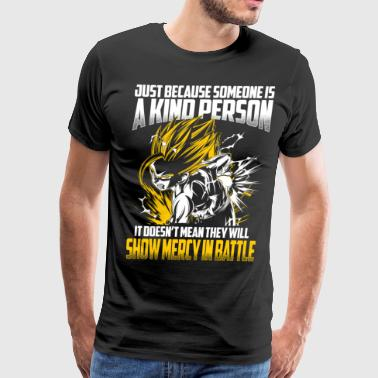 super saiyan gohan show no mercy in battle - Men's Premium T-Shirt