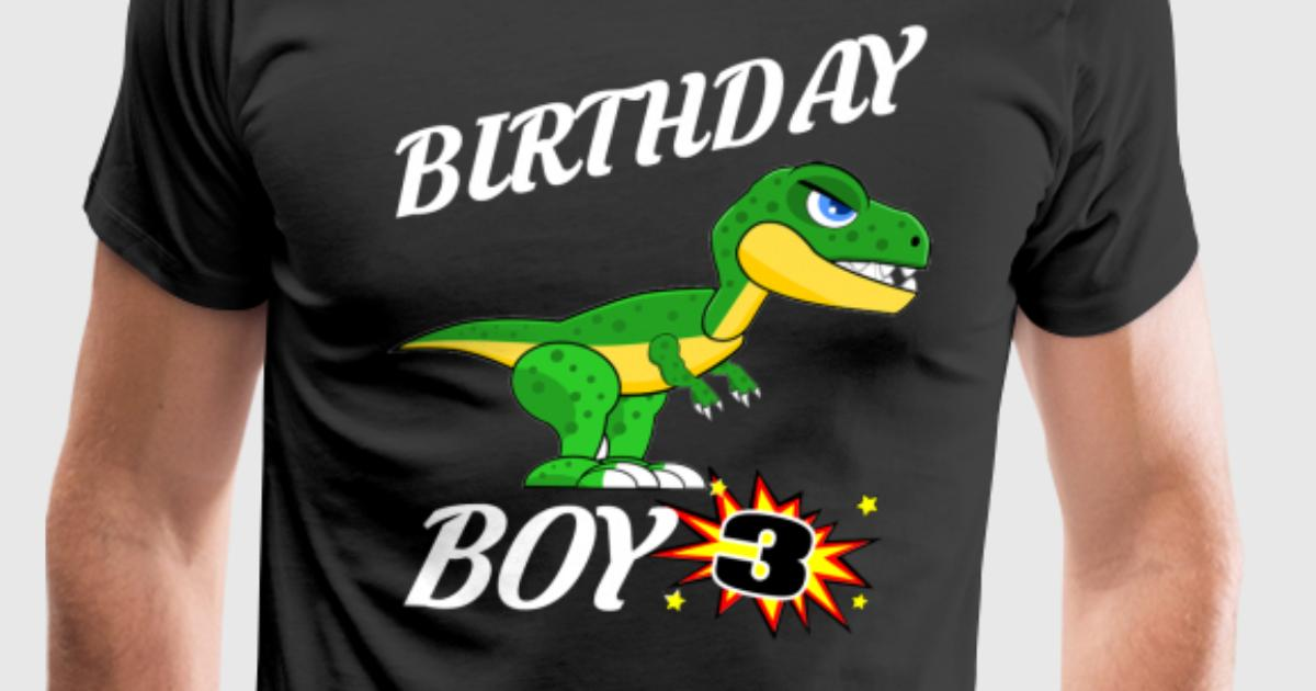 3 Years Old Birthday Shirt Dinosaur Gift By Drwiggles Spreadshirt Gifts For 2 Year Ideas
