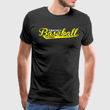 Fantasy Baseball Shirt Fantasy GEnius - Men's Premium T-Shirt