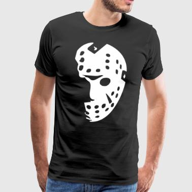 Halloween Hockey Mask FRIDAY THE 13TH - Men's Premium T-Shirt
