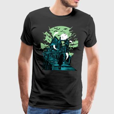 Haunted Haunted House - Men's Premium T-Shirt