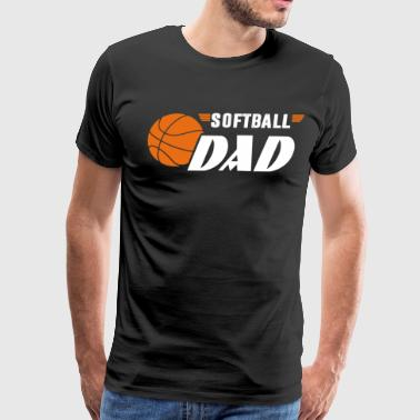 Softball Dad T Shirt - Men's Premium T-Shirt