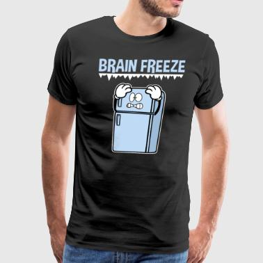 Brain Freeze Freezing Pain Headache - Men's Premium T-Shirt