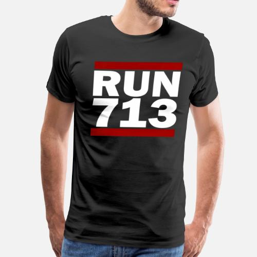 713 Design Run Texas Area Code Running Gifts By DrWigglebutts