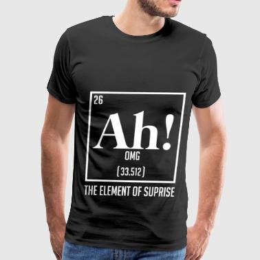 The Element of Suprise - Men's Premium T-Shirt