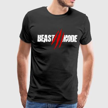 Train Like A Beast Beast Functional Gym Training Workout Fitness Stre - Men's Premium T-Shirt