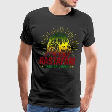 Rastafari - Lion Of Judah Reggae Music Rasta Gift - Men's Premium T-Shirt