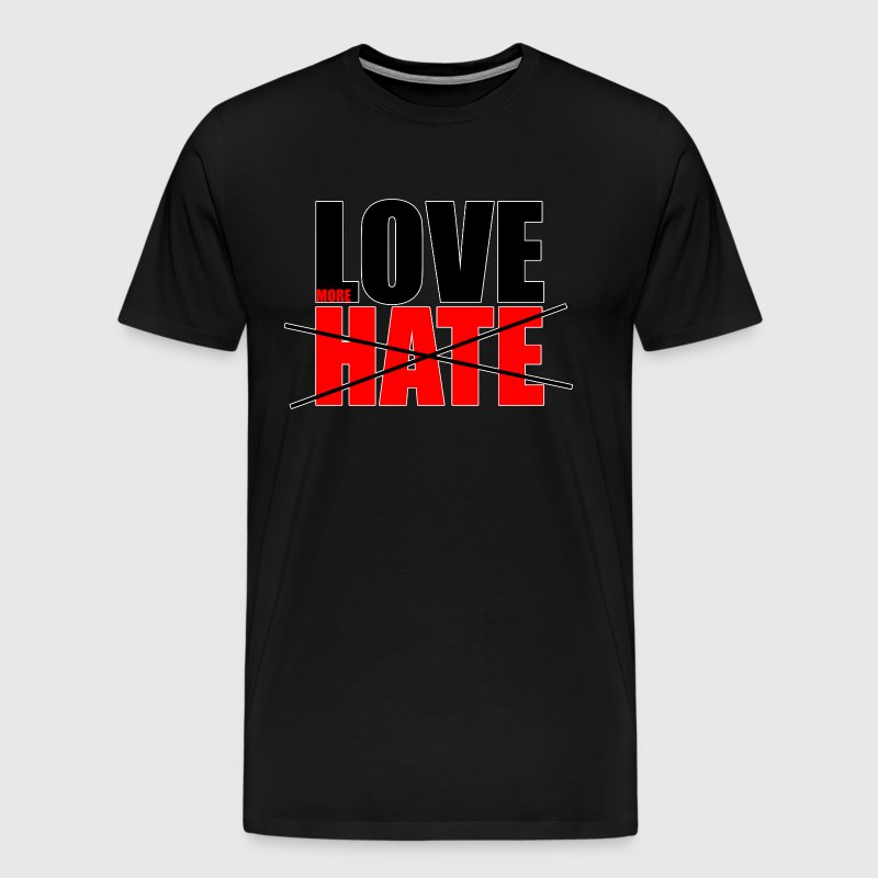 Love Hate Tee - Men's Premium T-Shirt
