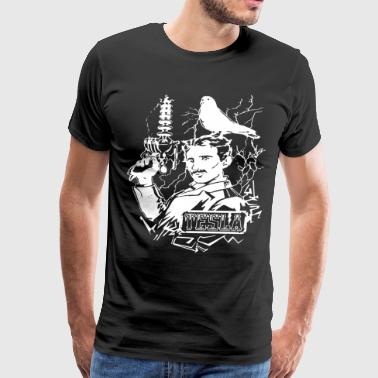 Brand New Nikola Tesla Mens Fitted Womens Steampun - Men's Premium T-Shirt