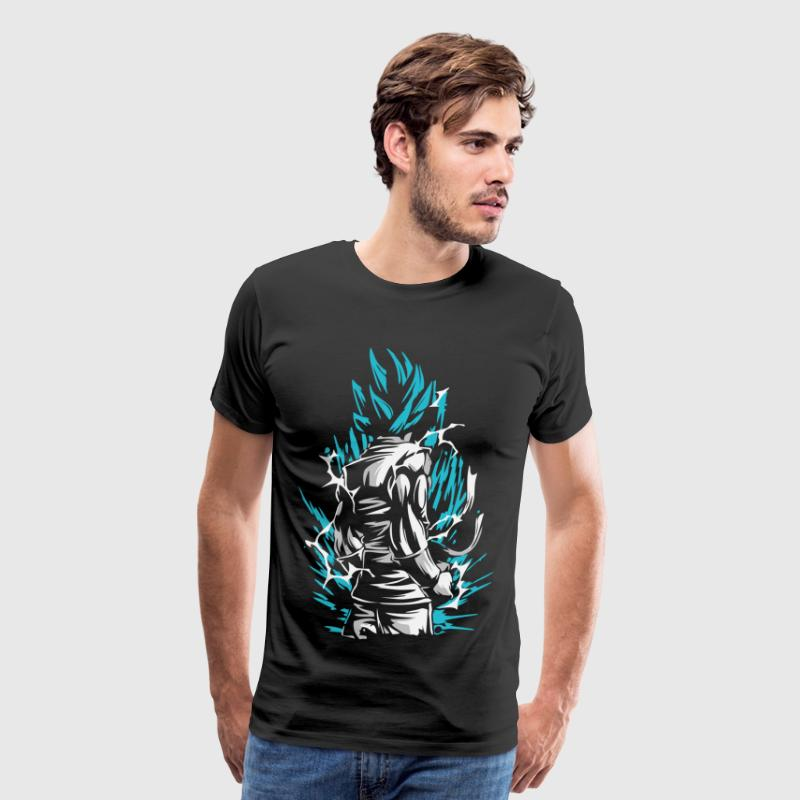 Dragon Ball - Goku SSB - Men's Premium T-Shirt