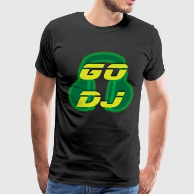 go dj 3 - Men's Premium T-Shirt