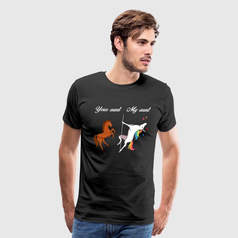 Your Aunt My Aunt Unicorn - Men's Premium T-Shirt