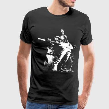 JIMI HENDRIX rock guitar experience jimmy MENS LAD - Men's Premium T-Shirt