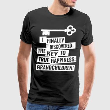 I finally discovered the key to true happiness hip - Men's Premium T-Shirt