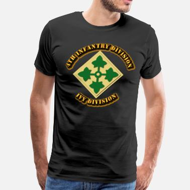 The Division 4th Infantry Division - Ivy Division - Men's Premium T-Shirt