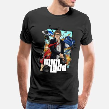 Mini Ladd Logo Mini Ladd Illustration T-Shirts - Men's Premium T-Shirt
