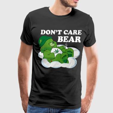 Don't care bear shirt - Men's Premium T-Shirt