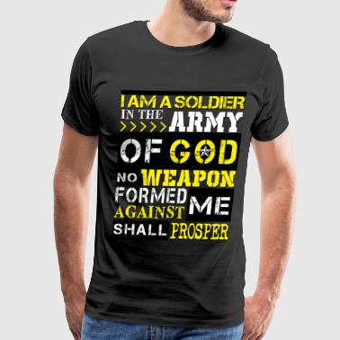 God Army of God Solider - Men's Premium T-Shirt