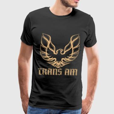 Firebird Trans Am Pontiac Firebird Trans Am GM Retro Vintage Car New - Men's Premium T-Shirt