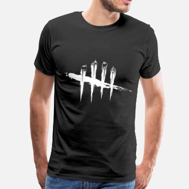 Gronkh DEAD BY DAYLIGHT WHITE - Men's Premium T-Shirt